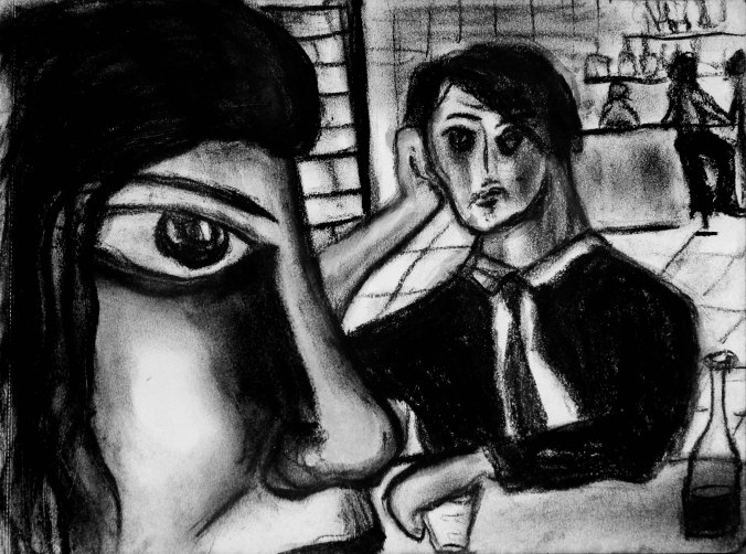 Perversion. Charcoal
