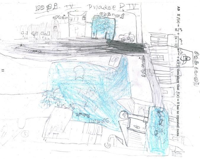 Pradeep's flooded map
