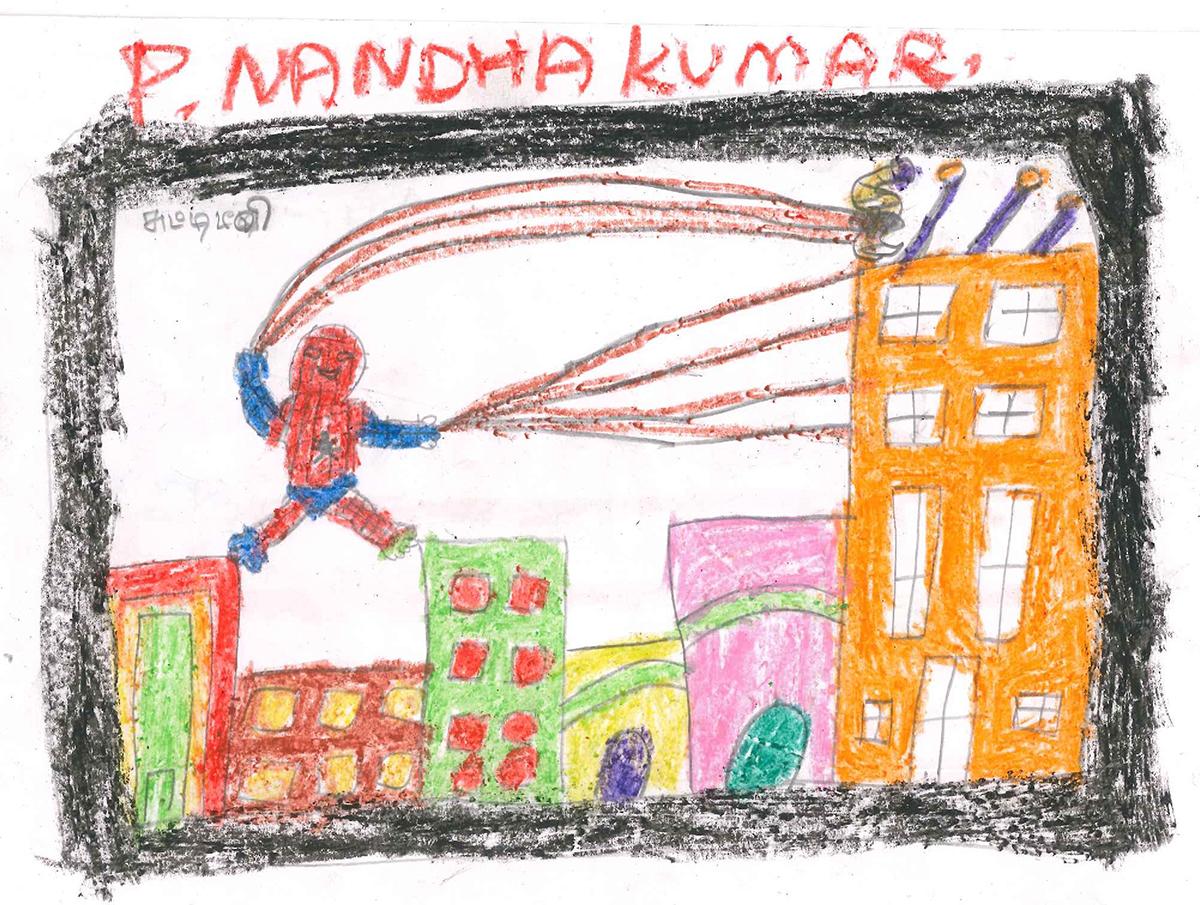 Nandha Kumar: Spiderman